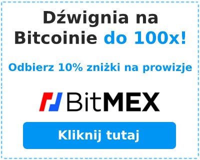 Odbierz zniżkę 10% na handel z dźwignią w BitMEX.com